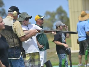 Kids have blast at SUNfest with clay target shooting