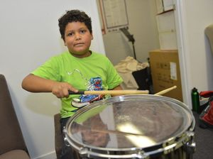 Young musicians learn and form friendships at rock camp