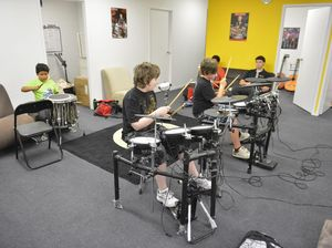 Anthony Breed College of Music's rock camp