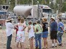 "WEEKEND leak described as ""minor"" at Metgasco drilling site at Glenugie."