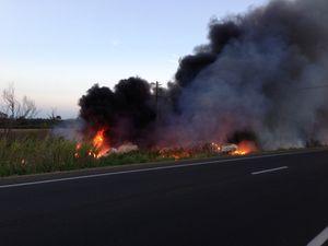 Fatigue a 'major factor' in fatal crash and inferno: police