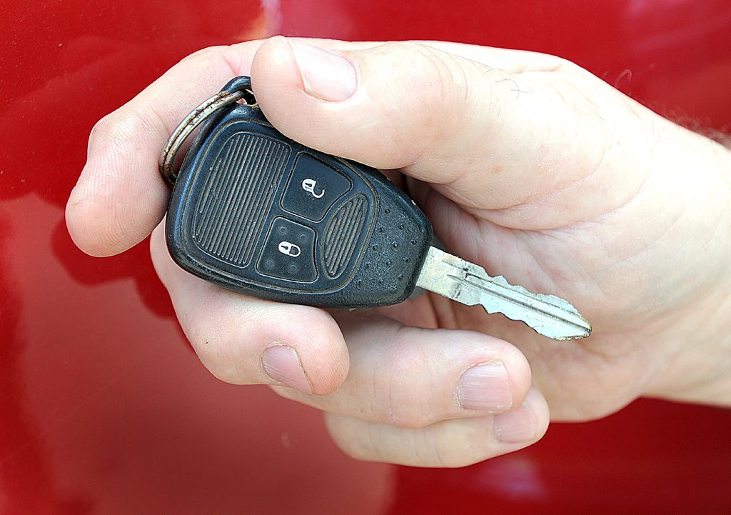 Thieves don't hot-wire cars these days...they simply steal the keys.