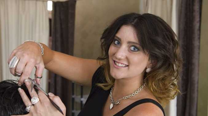 Sara Cumner, owner of new Russell St hair salon Ultimum Vos Hair Design.