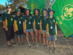 Gin Gin scouts make the most of jamboree