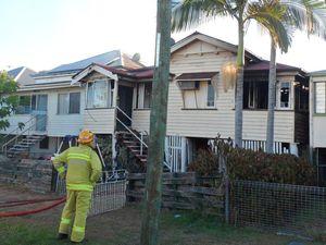 Blaze leaves Rockhampton family with nothing