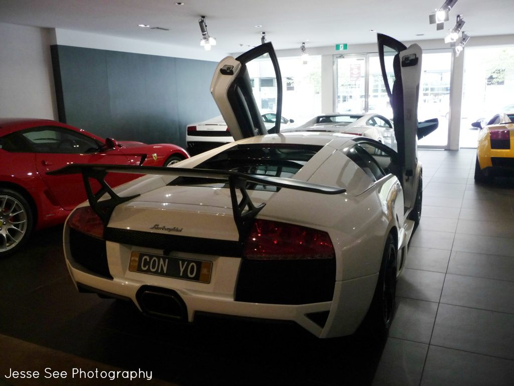 The 2008 Lamborghini Murcielago LP640-4.