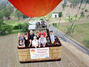John feels the need, the need for speed after ballooning