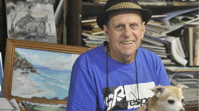 Garry Holmes a Carboot Market regular