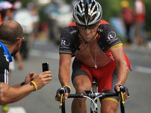 Lance Armstrong saddles up for low-key return to circuit