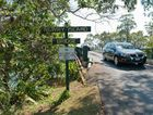 Newry Island Bridge sign. Photo: Rob Wright/ The Coffs Coast Advocate