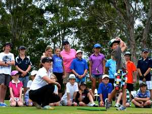 Golf clinic a hit with young enthusiasts
