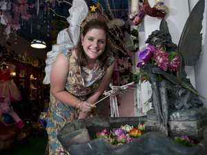 Fairy Celia hangs up her wings for a career in nursing
