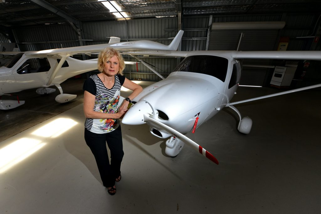 REGO DILEMMA: Jabiru Business manager Sue Woods is frustrated due to registration delays. Photo: Scottie Simmonds / NewsMail