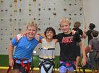 Kade Porter, 11, Nathan Kenny, 11 and Matthew Hitchcock, 11.
