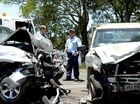 Head-on collision on country road puts three in hospital