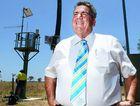 ALL GOOD: Mayor Graeme Lehmann inspects the newly-installed flood early warning siren at Fernvale.