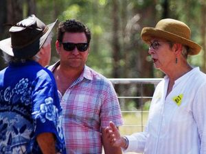 Mayors welcomed at CSG blockade