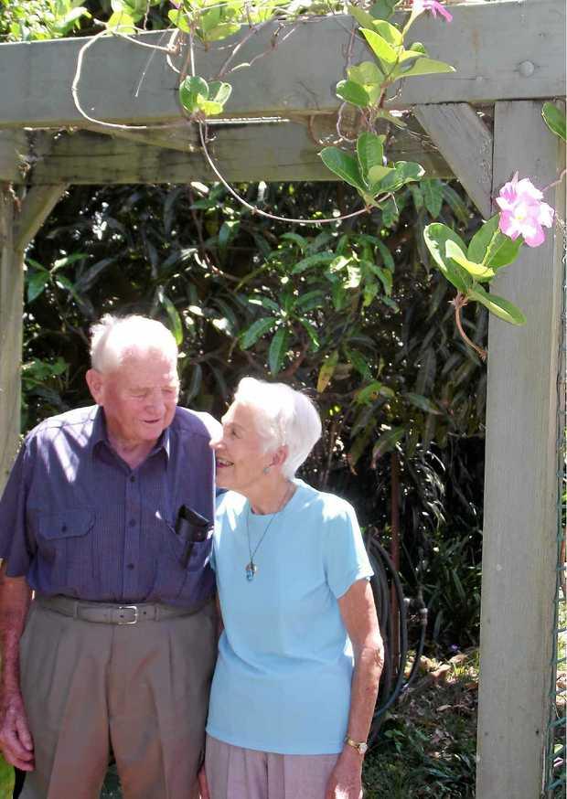 HAPPY COUPLE: John and Ronne Wildman celebrate 60 years of marriage.