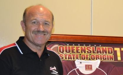 WALLY Lewis echoed the founder of Origin, the late Ron McAuliffe's famous quote 32 years ago - that Jesus Christ has blessed the past decade of Queensland dominance.