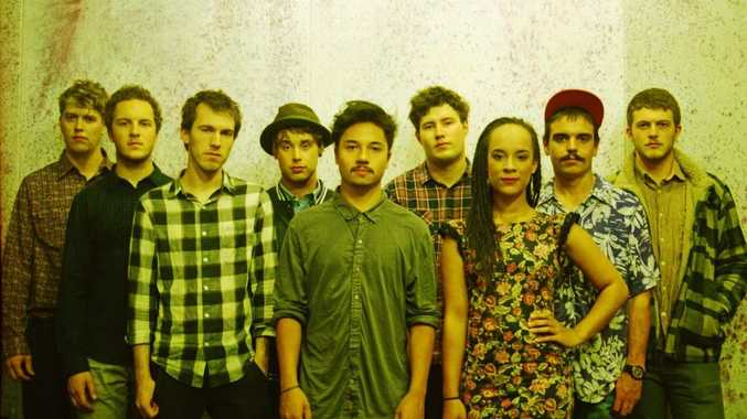 Melbourne band, Saskwatch released their debut album, Leave It All Behind, last year. Photo Contributed