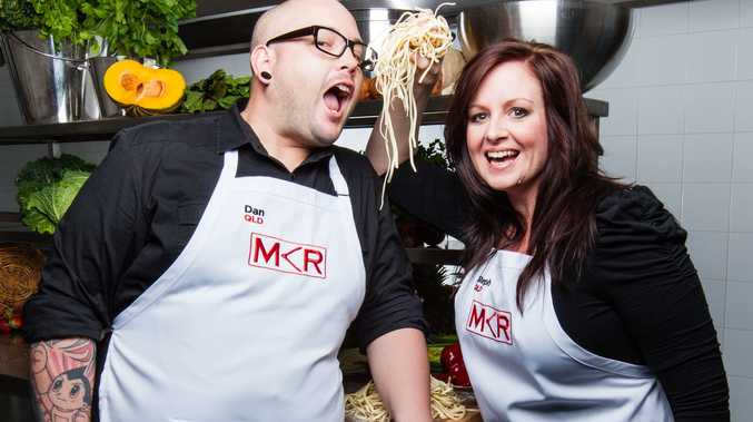 My Kitchen Rules winners Dan and Steph Mulheron will appear at Cold Rock on Saturday as part of the shop's opening celebrations.
