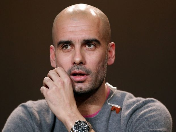 Pep Guardiola, former head coach of Barcelona attends the Press Conference with nominees for World Player of the Year and World Coach of the Year for Men's Football on January 7, 2013 at Congress House in Zurich, Switzerland.
