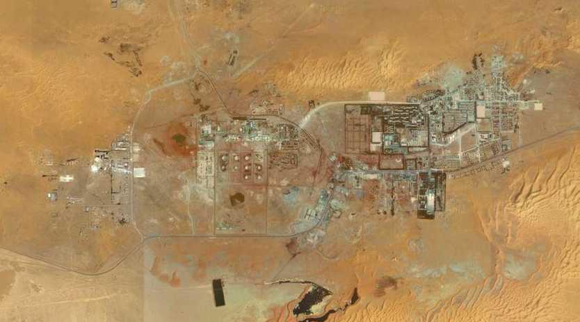 The gas facility in In Amenas, Algeria, where the siege broke down.