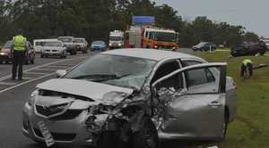 A man died in a head-on crash on the Bruce Hwy at Torbanlea in December, 2010.