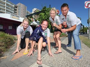 Strap on iconic Aussie footwear to beat world record