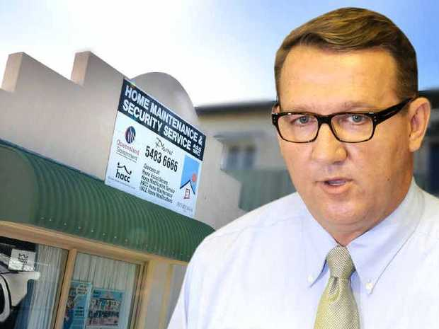 Gympie State MP David Gibson, is concerned over lack of Home Assist services.