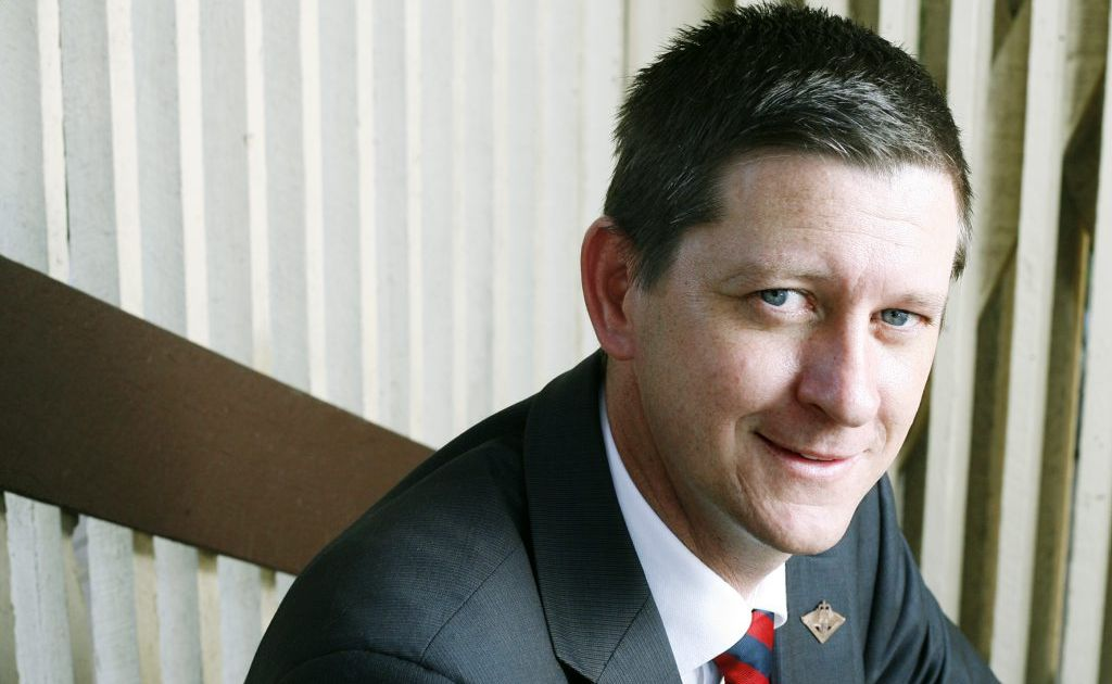 Catholic Katter Party senate hopeful Bernard Gaynor says he won't back down on his stance about gay teachers.