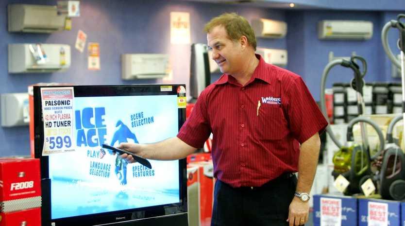 Rockhampton businessman Doug Webber hits out at supermarket giant.