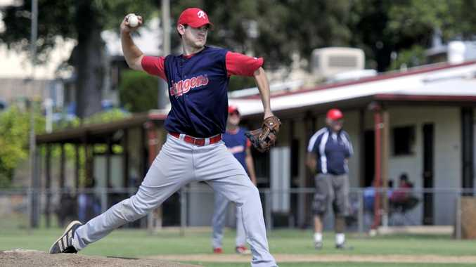 READY TO FIRE: Rangers pitcher Shaun Clarke.