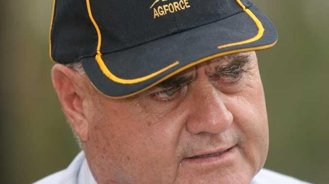 AgForce Queensland president Ian Burnett