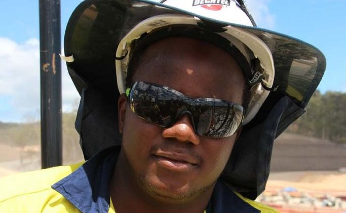 Engineering student Archford Kahondo worked this summer as an intern on Bechtel's Curtis Island LNG Projects.
