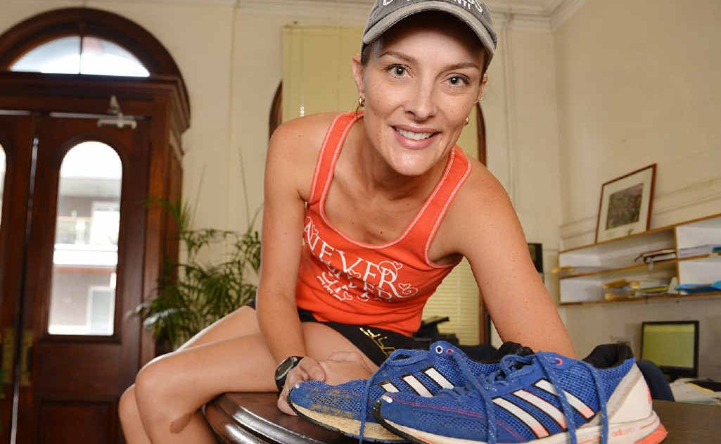 Tanya Hehir from Hash House Harriers loves the challenge of long distance running.