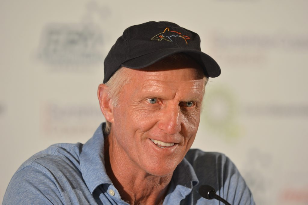 Greg Norman announces relaunch of Brookwater Golf and Country Club.