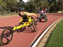 RECORDS keep tumbling for Rheed McCracken at the Summer Down Under series with the 16-year-old track star breaking the 400m T34 record in Canberra last night.