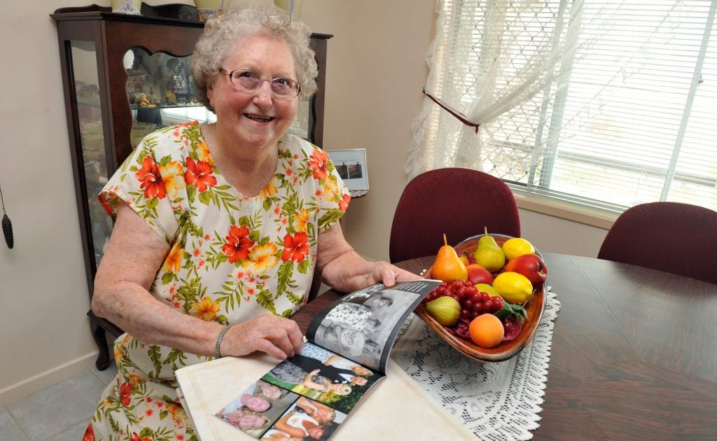TIMES PAST: Elain Lobegeier remembers days gone by in the city of Bundaberg. Photo: Max Fleet / NewsMail