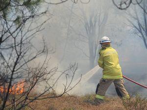 Kalbar grass fire under control