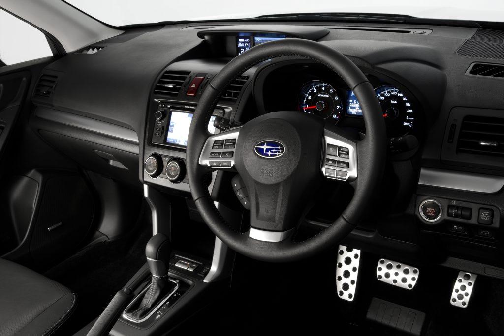 MY13 Forester 2.0XT Premium Interior.