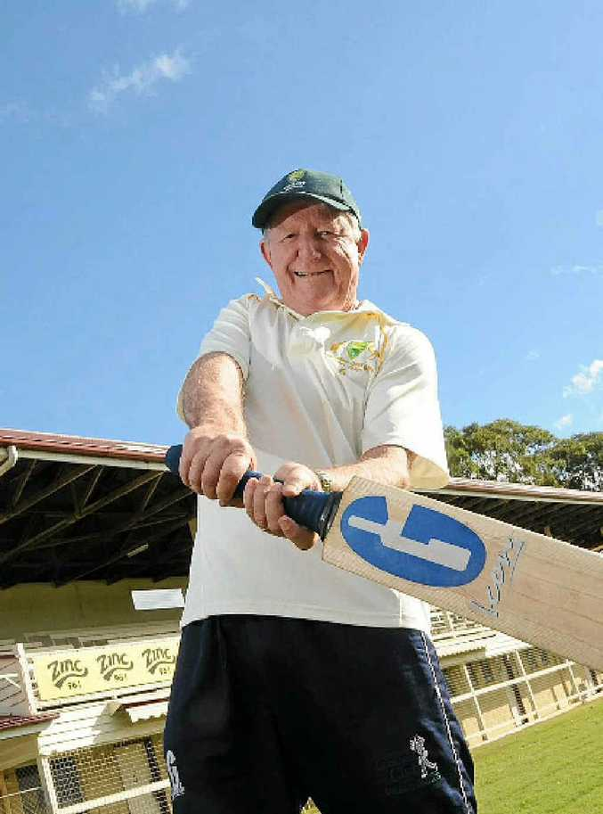 Gympie Silver Ross Chapman scored 50 not out for the Silvers on Sunday.
