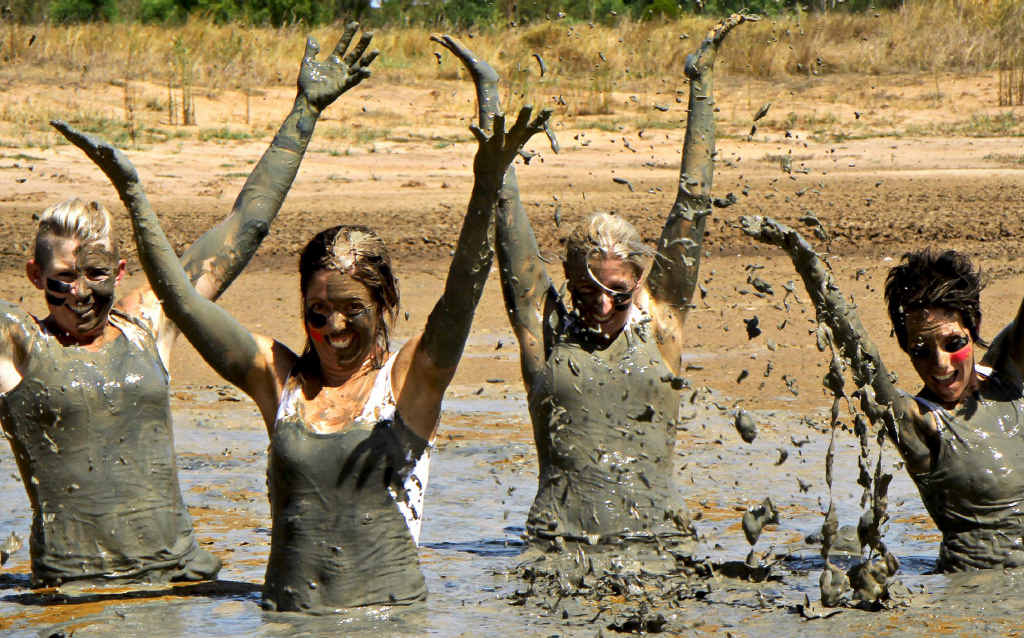 MUD BATH: Runners are getting ready for Emerald's first Mud Run.