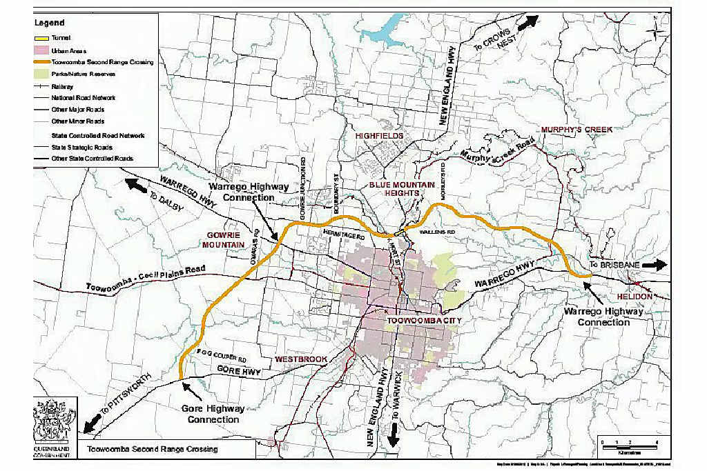 LIGHT AT THE END OF THE TUNNEL: A business case has again been presented to Infrastructure Australia, the Federal body responsible for the second range crossing recommendations.
