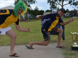 Warwick cricketers off and racing for Aussie Day tradition