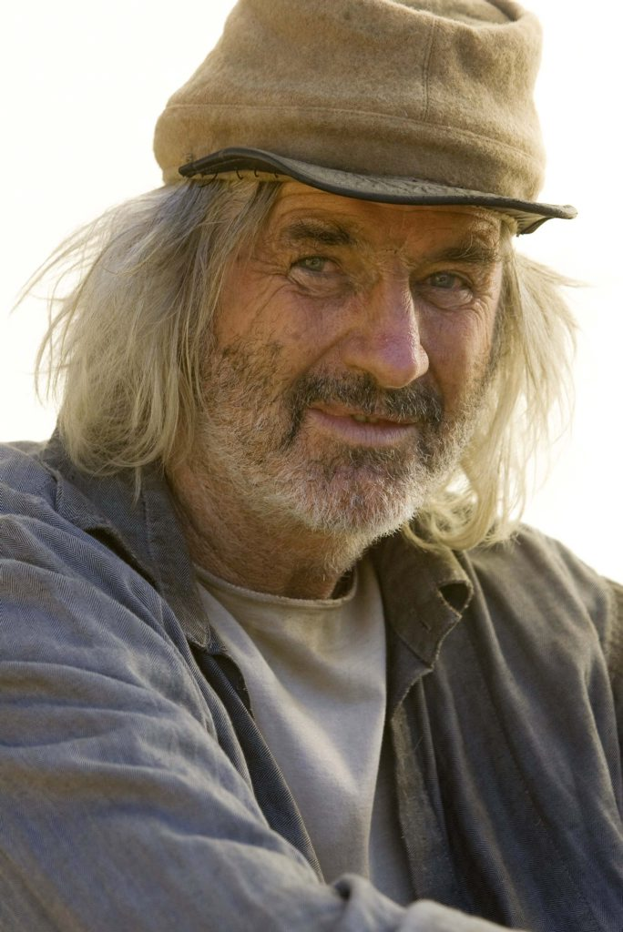 John Jarratt in a scene from the movie Django Unchained.