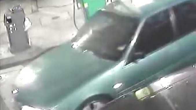 A car of interest in connection to a Tenterfield robbery.