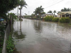 Rain floods roads throughout region