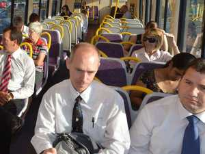 It's a long ride to Brisbane as pollies hear people's voice