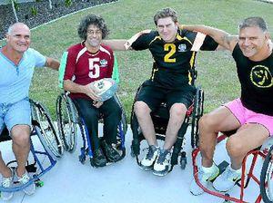 League legend doing his best to push wheelchair sport